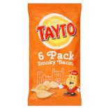 Tayto Crisps 6 x 25g Smoky Bacon